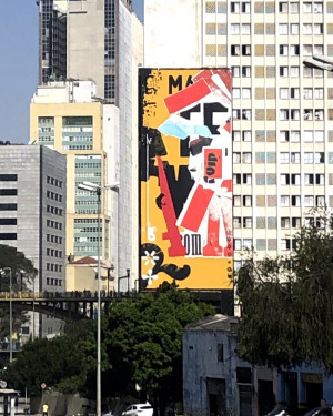 Mural Colagem Urbana SP